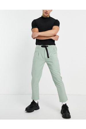 Sixth June Skinny pants in dusty with belt detail