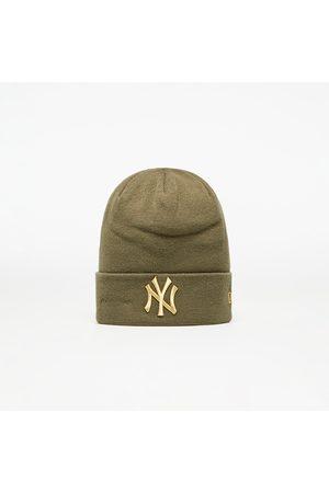 New Era Mlb Wmns Metallic Logo Cuff Knit New York Yankees Nov