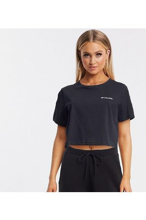 Columbia North Cascades back print cropped t-shirt in Exclusive to ASOS