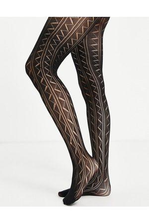 Gipsy Pelerine zigzag tights in