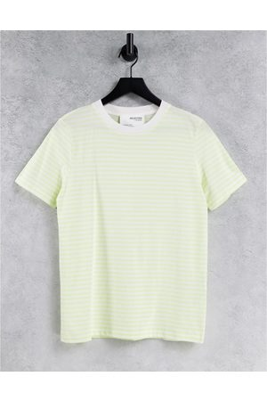 SELECTED Femme cotton t-shirt in -Multi