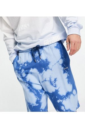 COLLUSION Oversized shorts in tie-dye co-ord