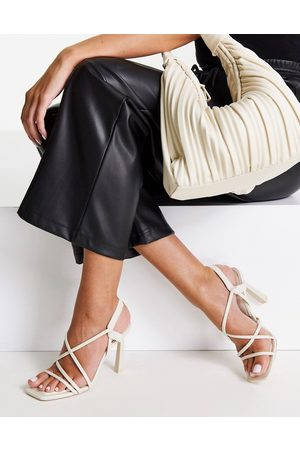 Aldo Amila heeled sandals in white