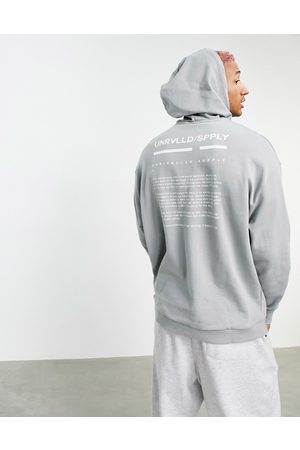 ASOS Co-ord oversized hoodie with logo print in