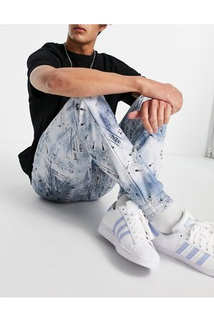Sixth June Jersey trackies co-ord in tie dye with bandana print