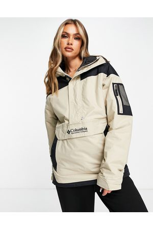 Columbia Challenger pullover jacket in /black-Neutral