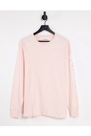 Columbia North Cascades long-sleeved T-shirt in pink