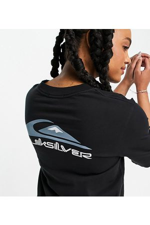 Quiksilver Mid Sleeve Logo T-shirt in Exclusive to ASOS