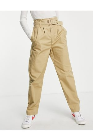 Levi's Tailor high loose tapered pants soft structure incence-Neutral