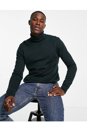 Brave Soul Cotton roll-neck jumper in