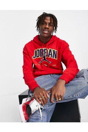 Jordan Nike Jumpan collegiate embroidered logo hoodie in