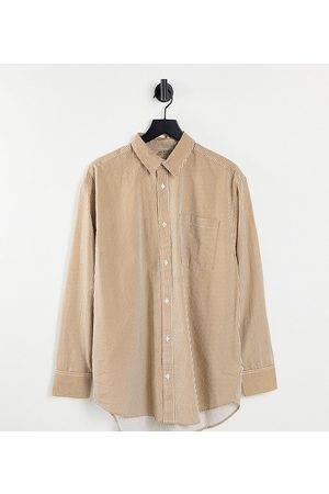 SELECTED Exclusive Unisex organic cotton oversized shirt in -Multi