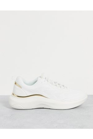 Aldo Willo chunky sneakers with gold details in -Neutral