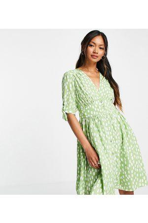 VERO MODA Exclusive mini tea dress in print