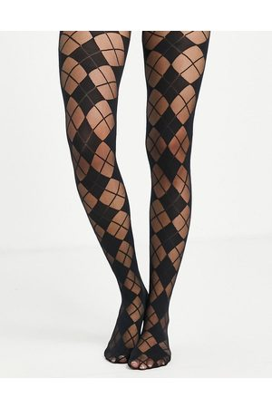 Gipsy Block argyle tights in