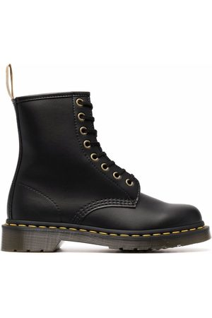Dr. Martens Women Lace-up Boots - Chunky faux leather lace-up boots