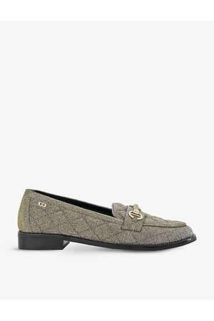 Dune Women Loafers - Games quilted woven loafers