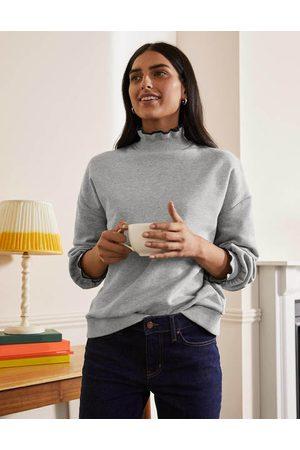 Boden Women Sweatshirts - Ruffle Detail Sweatshirt Women