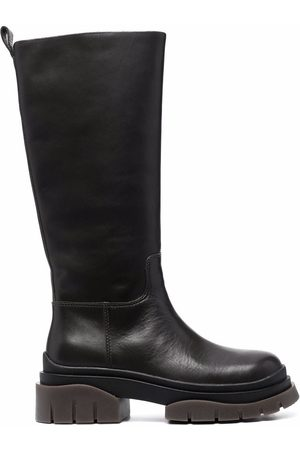 Ash Supremium 60mm knee length leather boots