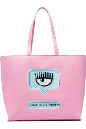 Chiara Ferragni Logo-print shoulder bag