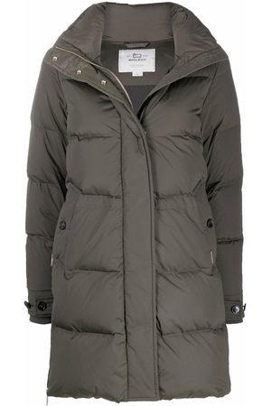 Woolrich Padded longline coat