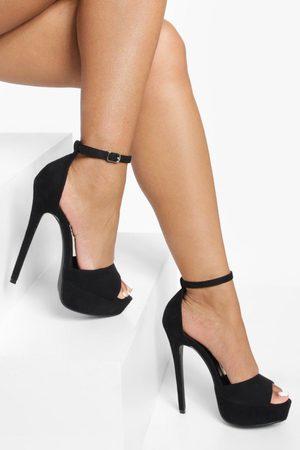 Boohoo Stiletto Platform Heels