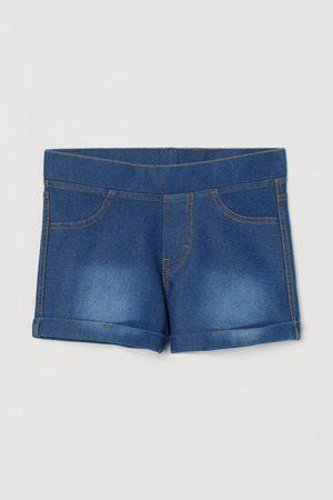 H&M Girls Shorts - Denim Look Shorts