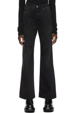 Totême Women Boyfriend - Flared High-Rise Jeans