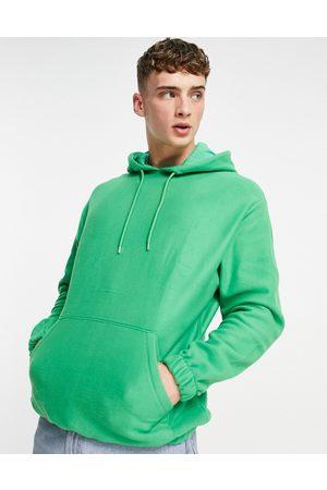 ASOS Oversized polar fleece hoodie in