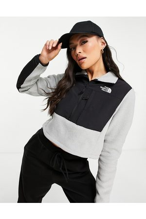 The North Face Denali cropped fleece jacket in