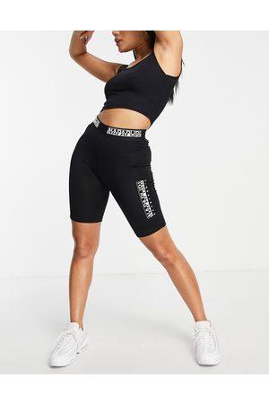 Napapijri Box legging shorts in