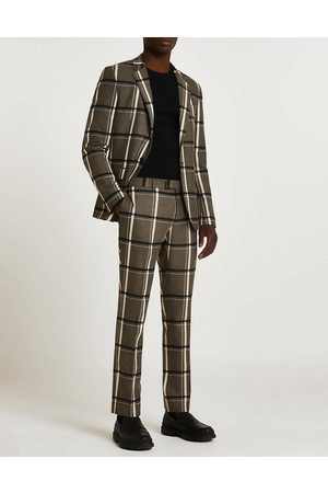 River Island Suit pants in check