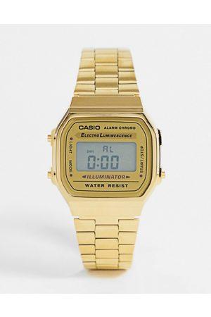 Casio A168WG-9EF plated digital watch