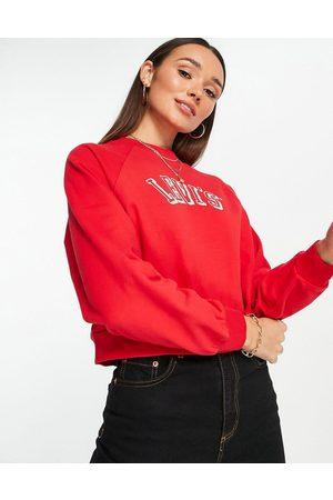 Levi's Varsity logo crew neck sweater in