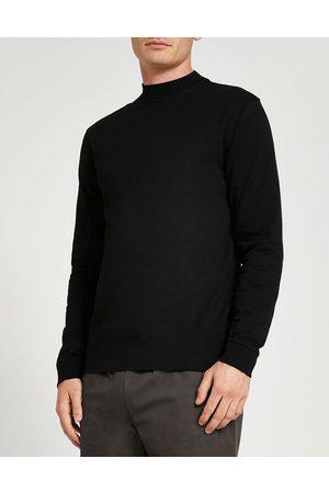 River Island Slim fit turtleneck long sleeve t-shirt in