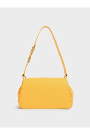 CHARLES & KEITH Buckle Detail Shoulder Bag