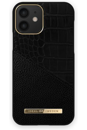 IDEAL OF SWEDEN Phone Cases - Atelier Case iPhone 12 Nightfall Croco