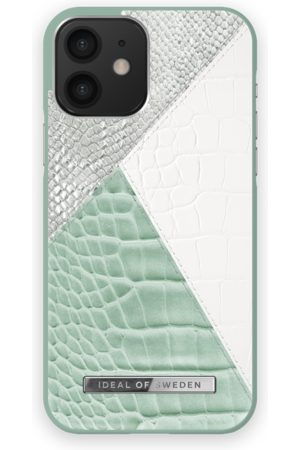 IDEAL OF SWEDEN Phone Cases - Atelier Case iPhone 12 Palladian Mint Snake