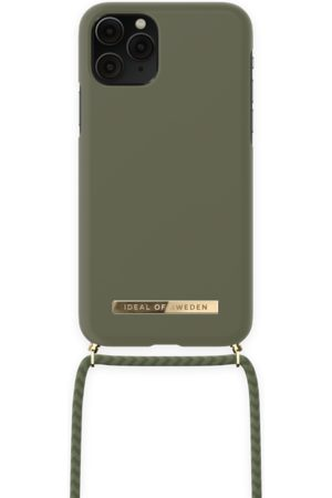 IDEAL OF SWEDEN Necklaces - Ordinary Necklace iPhone 11 Pro Cool Khaki
