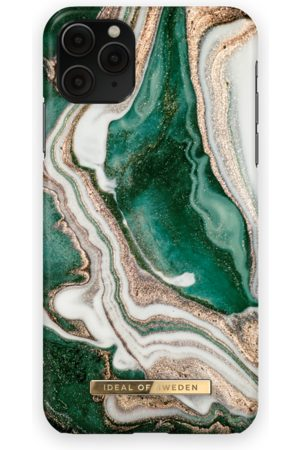 IDEAL OF SWEDEN Phone Cases - Fashion Case iPhone 11 Pro Max Golden Jade Marble