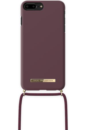 IDEAL OF SWEDEN Phone Cases - Ordinary Necklace iPhone 8 Plus Deep Cherry