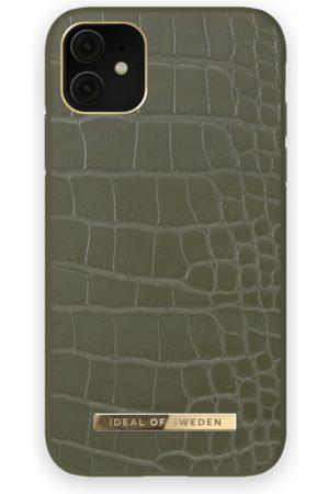 IDEAL OF SWEDEN Phone Cases - Atelier Case iPhone 11 Khaki Croco
