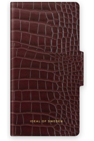 IDEAL OF SWEDEN Phone Cases - Atelier Wallet iPhone 12 Mini Scarlet Croco