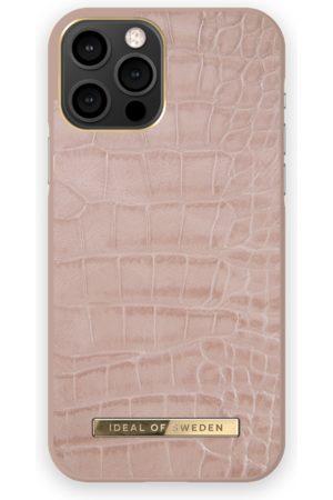 IDEAL OF SWEDEN Women Phone Cases - Atelier Case iPhone 12 Pro Rose Croco
