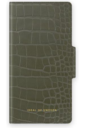IDEAL OF SWEDEN Phone Cases - Atelier Wallet iPhone 12 Mini Khaki Croco