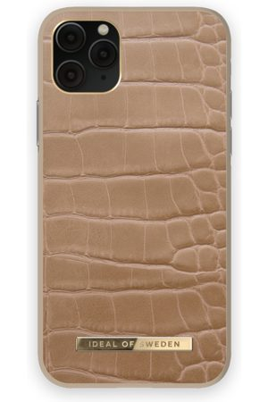 IDEAL OF SWEDEN Phone Cases - Atelier Case iPhone 11 Pro Camel Croco