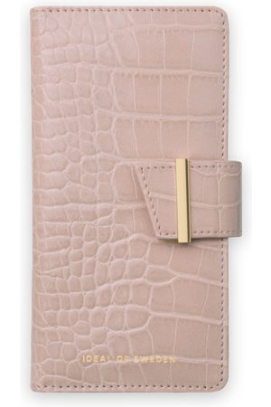IDEAL OF SWEDEN Women Phone Cases - Cora Phone Wallet iPhone 12 Pro Max Rose Croco
