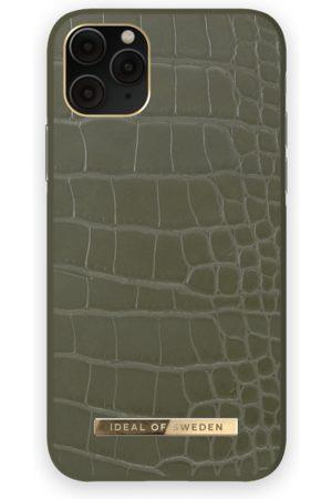 IDEAL OF SWEDEN Phone Cases - Atelier Case iPhone 11 Pro Khaki Croco