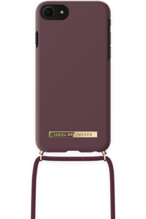 IDEAL OF SWEDEN Phone Cases - Ordinary Necklace iPhone 8 Deep Cherry