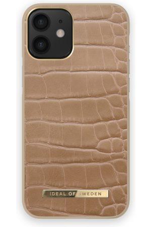 IDEAL OF SWEDEN Phone Cases - Atelier Case iPhone 12 MINI Camel Croco
